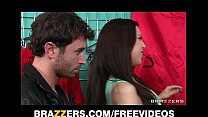 Madison Fox seduces a y. man away from his GF for hard dick