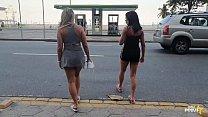 Gostosas Monique Lopes E Lunna Real Em Copacaba