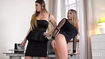 18150 Naughty Rachele Richey gets Ass Fucked by Dominatrix Cathy Heaven preview