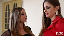 Image: Naughty Rachele Richey gets Ass Fucked by Dominatrix Cathy Heaven