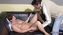 German Step-Son Wake Up MILF Mom and fuck her Image