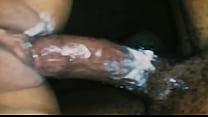Creamy Japanese mix riding black dick