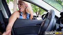 BANGBROS - I Convinced This MILF To Give Me A Handjob In My Car