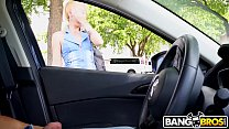 BANGBROS - I Convinced This MILF To Give Me A Handjob In My Car thumbnail