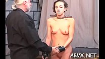 Rough lesbo bondage in non-professional scenes along hot babes