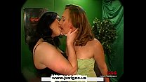 Two horny MILFS team up to extract as much cum ...