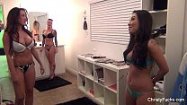 Asa Akira, Capri Cavanni & Chirsty Mack On Set pornhub video