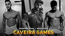 Youtuber CaveiraGames - Entrevista ( Insta:  @musculoduroblog  )