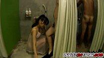 Shou Nishino Asian doll has public sex at Japan...