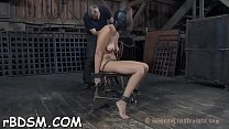Gagged hotty is being punished for being such a...