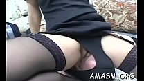 Dirty home porn smothering clip