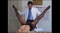 Nylon sexy receptionist fetish pornhub video