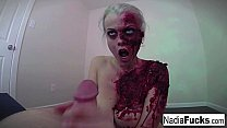 Horny Zombie Ge ts Her Fill Of Cock And Jizz Cock And Jizz