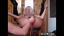 horny european grandma toyed with and squirts, sexxxarab thumbnail