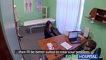Fake Hospital Sexual treatment turns gorgeous busty patient moans of pain into p preview image