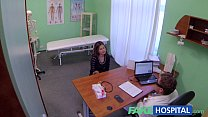 12074 Fake Hospital Sexual treatment turns gorgeous busty patient moans of pain into p preview