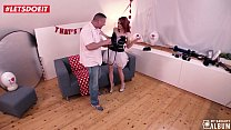 17730 LETSDOEIT - Valentine's Day For Horny RedHead Means Banging Her Photographer preview