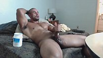 Muscle god Str8  stoke his beef -hotguycams.com