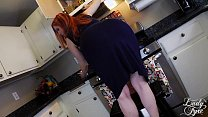 PEEPING PAPERBOY creampies MILF Lady Fyre POV redhead FULL VID - 9Club.Top