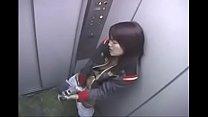 Elevator Masturbation japanesegirl