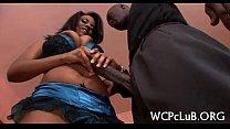Sexy interracial sex scene preview image