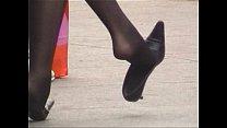 Shoe dangling Outside Thumbnail