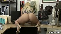 Big ass blonde Nina Kay pawns a gun - XXX Pawn صورة