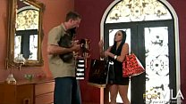 Audrey Bitoni Has Some Fun After Doing Some Sho...