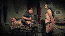 19294 Kinky sex game and bondage sex for two slaves ready to please you preview