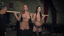 Kinky sex game and bondage sex for two slaves ready to please you Vorschaubild