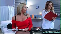 Sexy Lesbo Get Punish With Dildos By Mean Lez (dani phoenix) mov-15 image