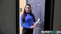 PropertySex - Curvy real estate agent fucking her new client pornhub video