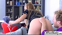 Hot Nasty Cute Girl (Nicole Aniston) With Big Juggs Like Sex In Office vid-24 thumbnail