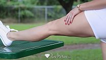 PureMature MILF Cory Chase fuck and facial after run in the park thumbnail