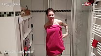 MyDirtyHobby - Hot college roommate caught in the shower she couldn't resist thumbnail