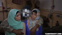 17735 Two arab babes kissing preview