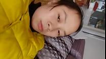 Chinese girlfriend take photos