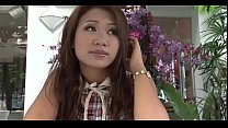 Cum-thirsty thai girlfriend loves to take up with the tongue a big love stick