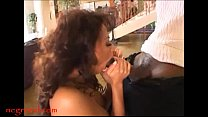 Negroed.com eightys hair style MILF with big tits goes for negro cock