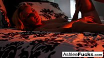 Sexy solo in artful way with Ashlee Graham