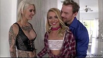 Hunk Eriks lovely girls Cameron and Kleio gets ...