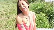 Image: Bigtits Russian babe Ally gets pick ip in the lake and fucked outdoors
