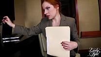 ACCOUNTANT GONE WILD -FULL VERSION LADY FYRE MILF REDHEAD POV Vorschaubild