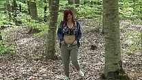 WwW.alexsisfaye.com Public nudity: Alexsis Faye gets naked in the woods while she is jogging Preview
