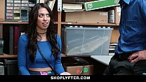 ShopLyfter - Brunette Teen Strip Searched & Fucked