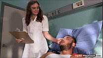 Nurse Jodi Taylor gets fucked in the ass by hot fireman