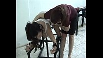 Deauxma And Arielle Ferrera Are Restrained In B