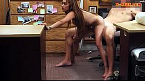 Busty latina pawns her stuff and pounded by nas... Thumbnail