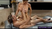 Alexis Fawx blonde milf gives amazing nuru massage and fuck pornhub video