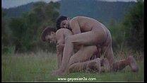 ตูดเกย์คาวบอยสองคนล่อกันมันส์ที่ป่ากลางดึกดูแล้วเสียวจนควยตั้งเลย